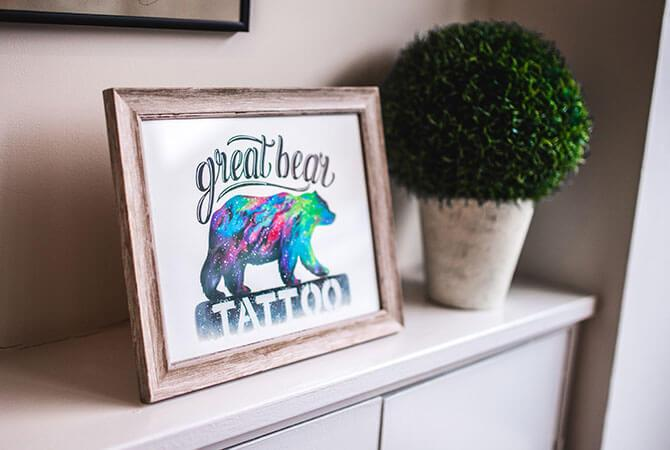 Great Bear Tattoo – Image Production